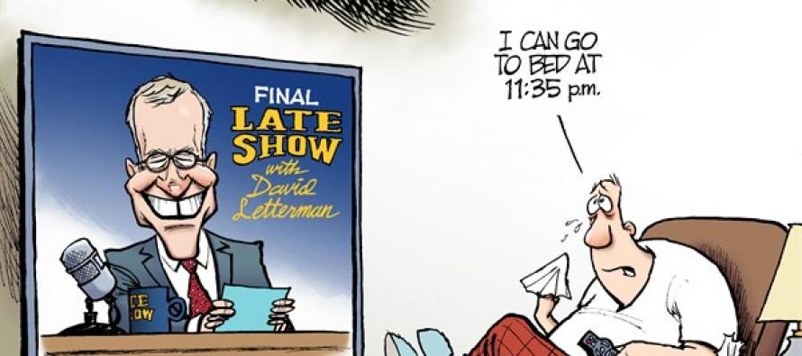 David Letterman (Cartoon)
