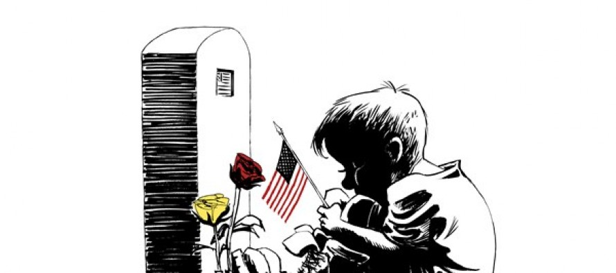 Memorial Day Thanks (Cartoon)