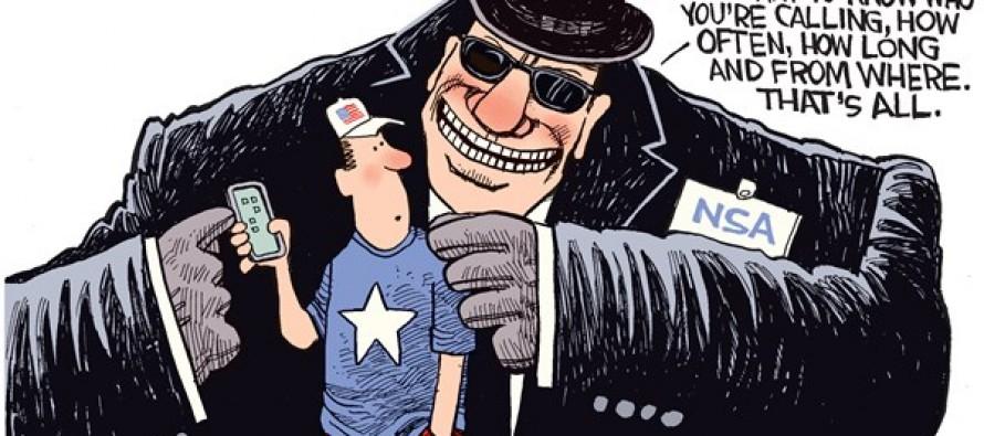 NSA Metadata (Cartoon)