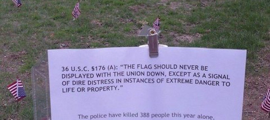 REVOLTING: Harvard Law Students Show a Lack of Intelligence in Disrespecting the Flag