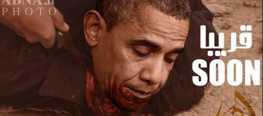 ISIS Promises to Behead Barack Obama – Posts Bloody Photo Online