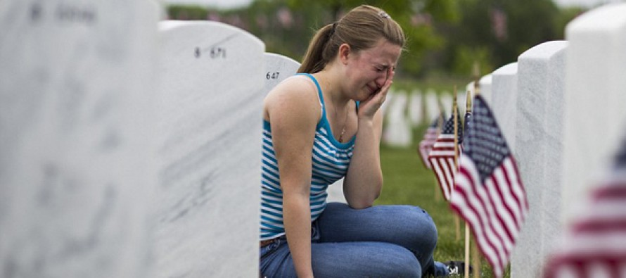 The heart-wrenching pictures and stories of veterans from one cemetery on Memorial Weekend