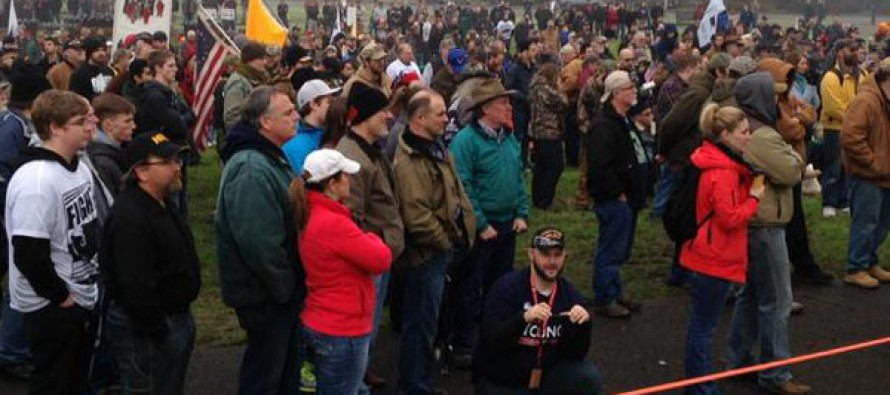 VIDEO: Gun Rights Advocates Rally Against New Laws – Will Not Comply