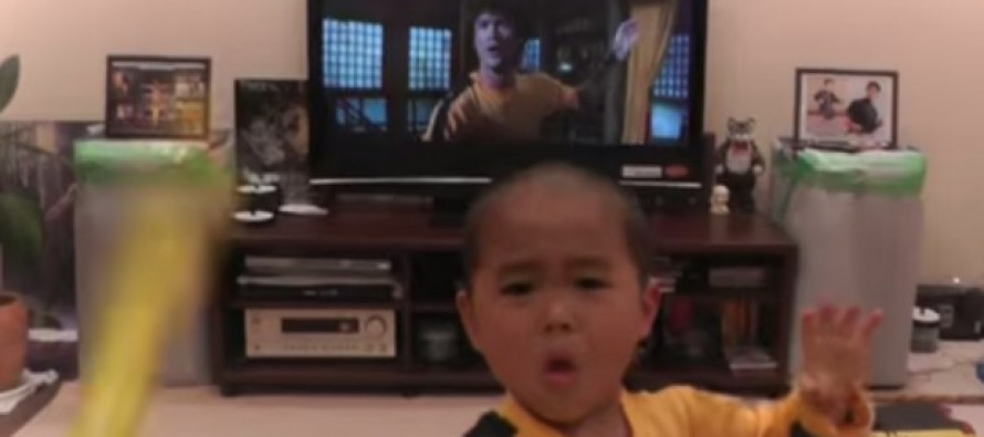 VIDEO: When You See What's On the Television Behind This Kid, You'll Know Why He's Going  Viral