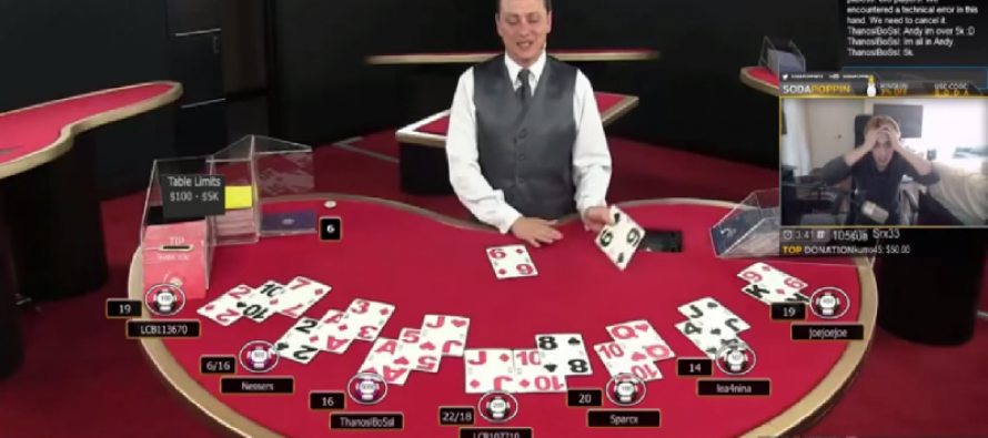 Man Loses $5,000 on One Hand of Video Blackjack & Goes Absolutely Nuts