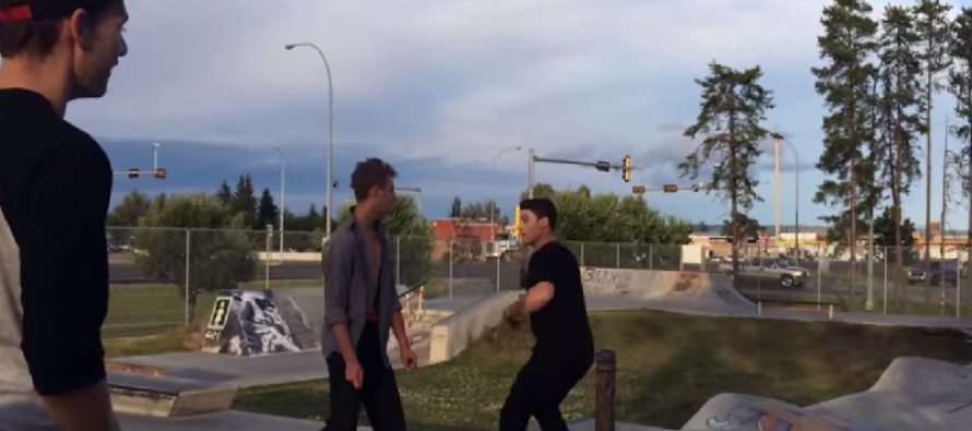 Video: Drunk Picks A Fight With The Wrong Skater and gets knocked out