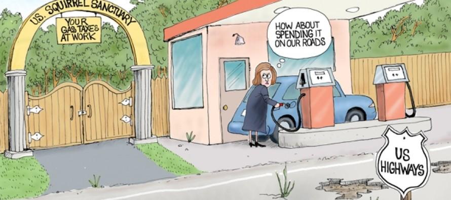 Highway tax Fund (Cartoon)