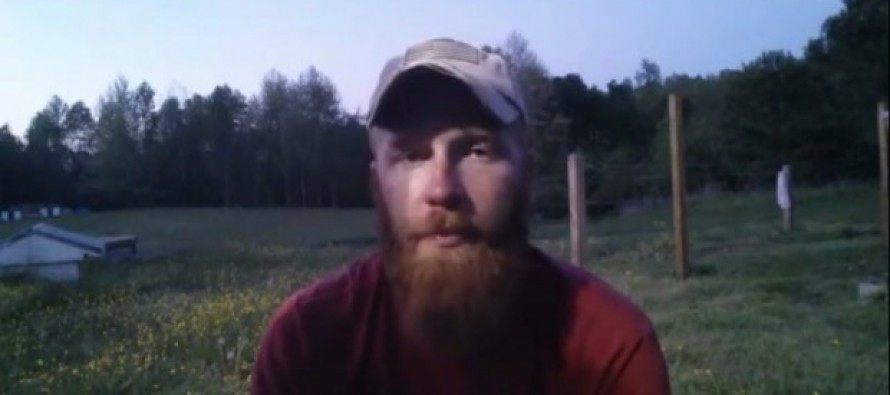 MUST-WATCH: U.S Marine Vet's Excoriating Message to Those Stomping on American Flag for Online Challenge