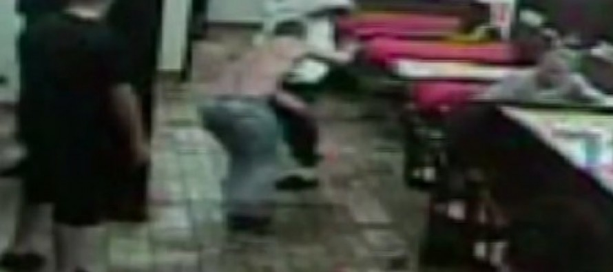 VIDEO: Surveillance Video Shows What Happens When Thugs Mess With the Wrong Concealed Carry Permit Holder
