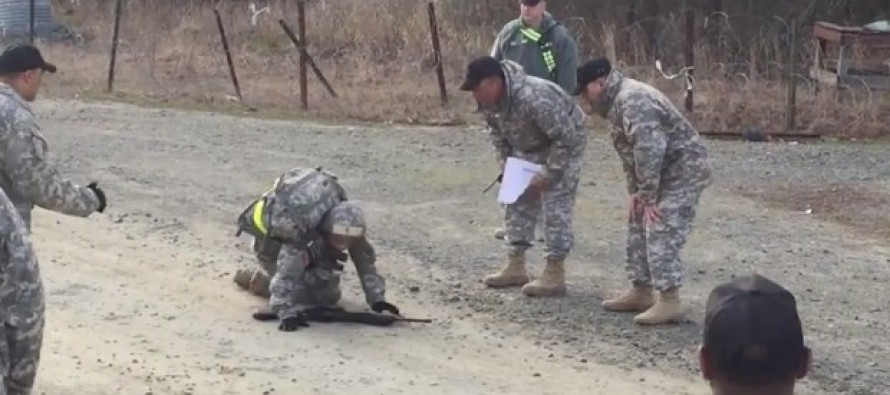 VIDEO: U.S. Soldier Refuses to Give Up, Completes Grueling 12-Mile Foot March