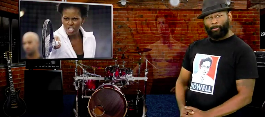 WATCH: Michelle's Race-Baiting Essay is Shredded By a Black Guy Who Gives Her a Must-See History Lesson