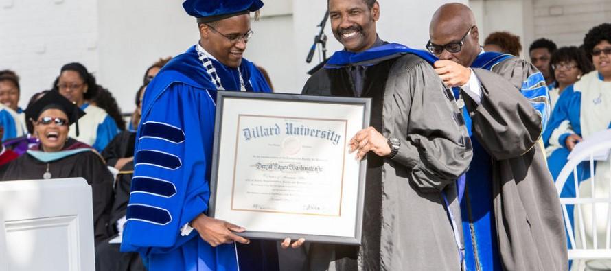 Oscar-Winning Actor Gives College Grads Major Piece of Advice: 'Put. God. First!'