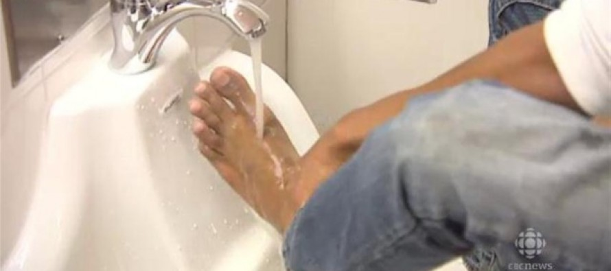 Muslims Cry 'Racism' After a Sign is Posted to Stop Them From Washing Feet in Bathroom Sink