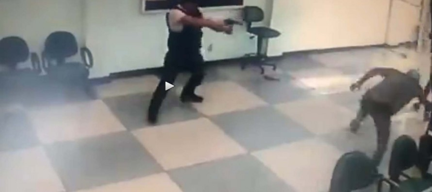 [VIDEO] 3 Thugs Walked Into A Bank, And This Guard Teaches Them A Lesson They'll NEVER Forget!