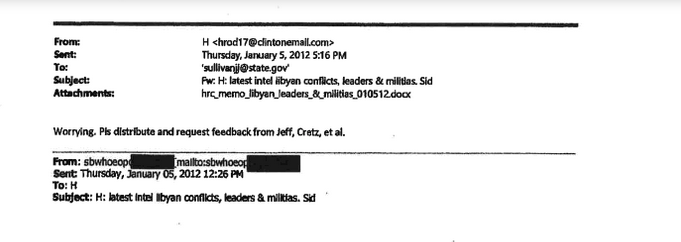 hillary email 1
