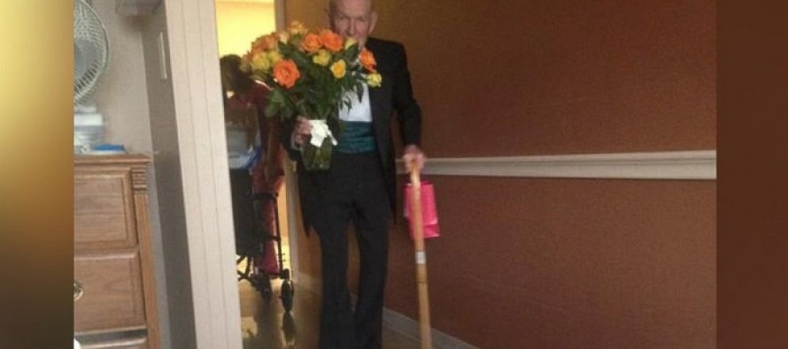 See Man's Sweet Surprise to Wife in Hospital for Their 57th Anniversary