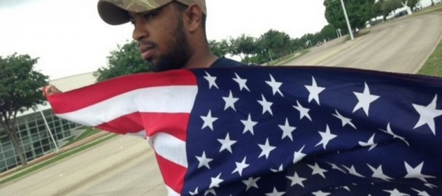 VIDEO: When ISIS Terrorists Attacked This Marine's Hometown, He Responded in the Most Patriotic Way