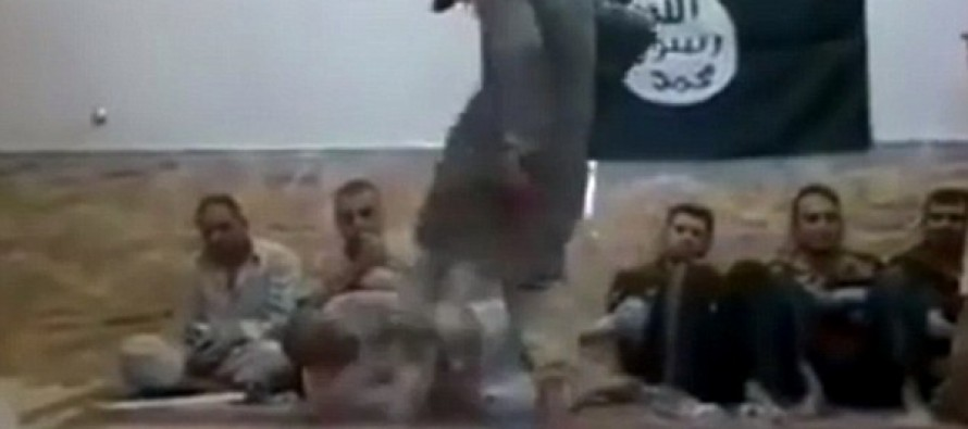 VIDEO: Incredibly brutal footage shows how ISIS punish their own fighters…because they were caught SMOKING
