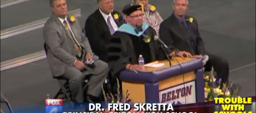 Parents March Out After H.S. Principal Slams Police for 'Killing Young Black Men' in Graduation Speech
