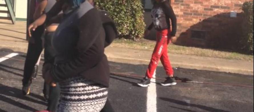 [VIDEO] Wild Girl Fight in Texas!