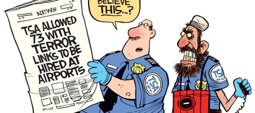 TSA Fails (Cartoon)