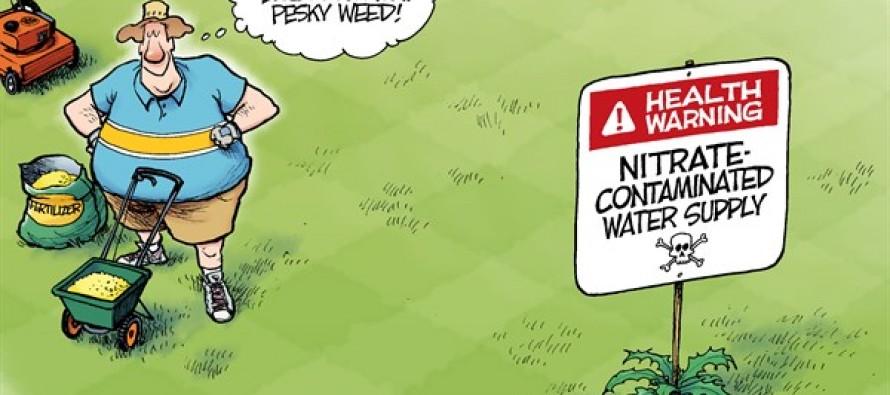 Nitrate Advisory (Cartoon)