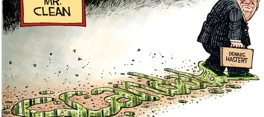 Hastert Scandal (Cartoon)