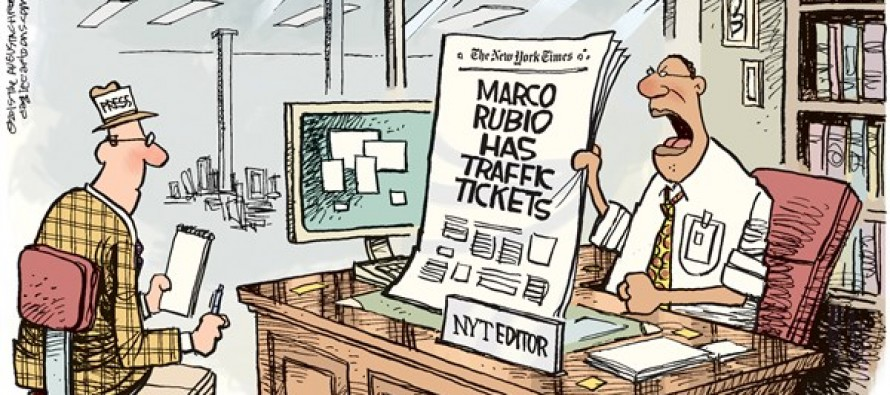 Rubio Tickets (Cartoon)