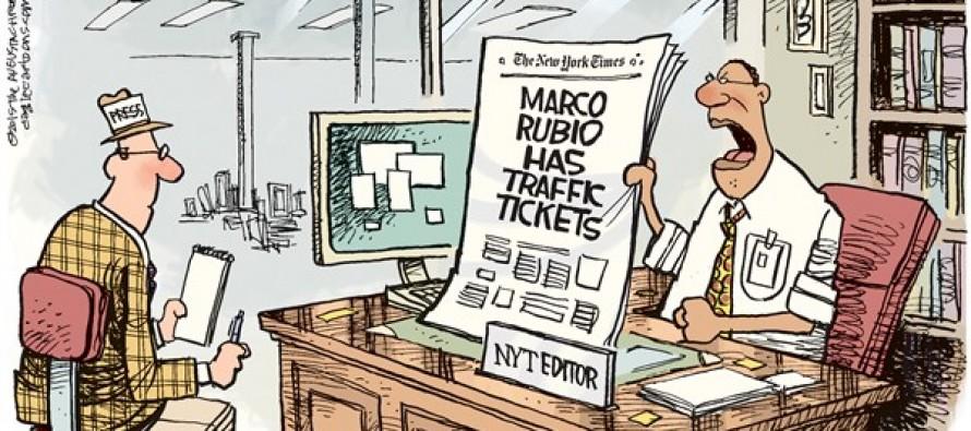 Rubio Tickets (Cartoon)