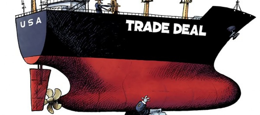 Trade Deal (Cartoon)