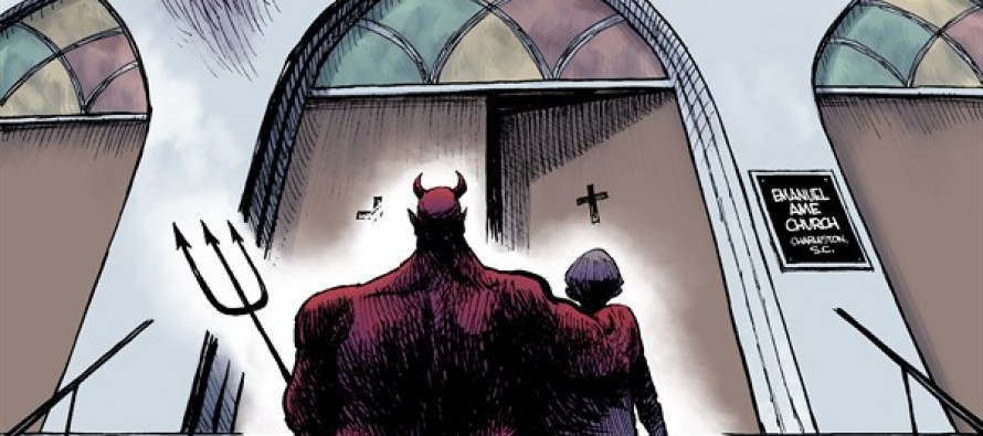 Evil in Charleston (Cartoon)