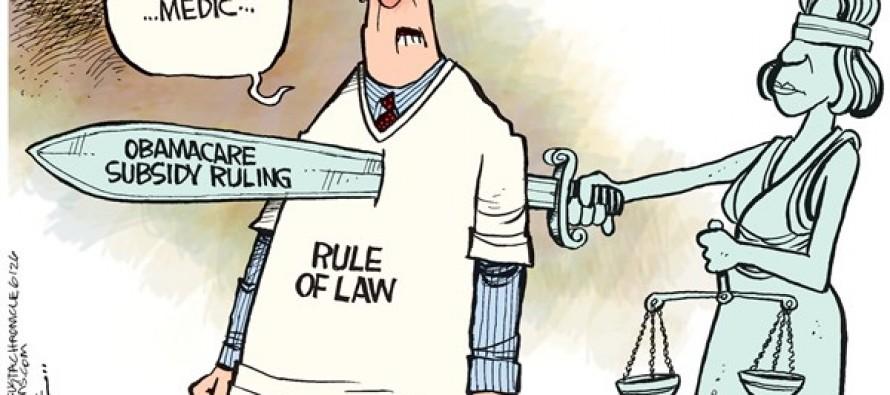 Obamcare Ruling (Cartoon)