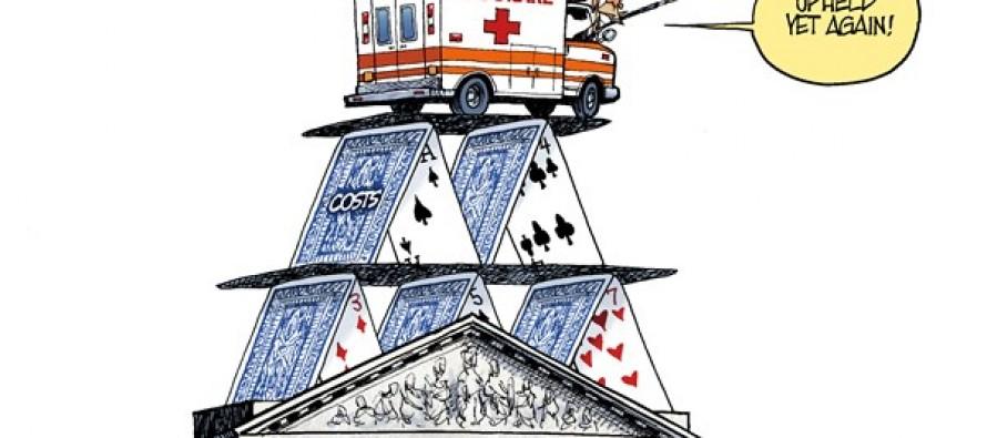 Obamacare Upheld (Cartoon)