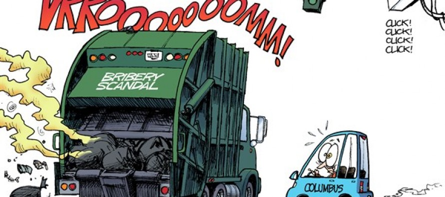LOCAL OH – Red-Light Bribery (Cartoon)