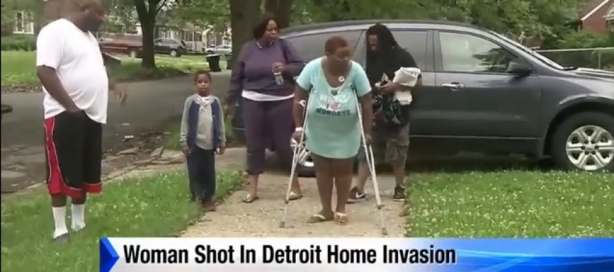 VIDEO: Five Burglars Made The Mistake of Targeting a Very Armed 'Ms. Dee'