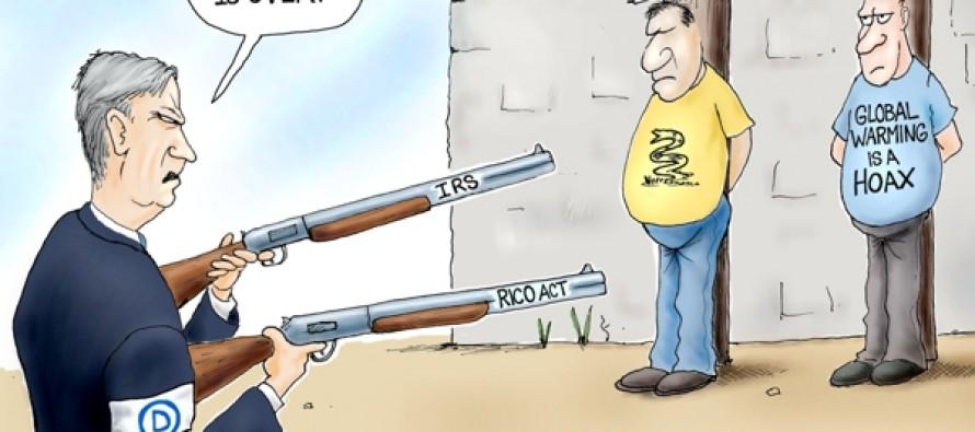 Government Big Guns (Cartoons)