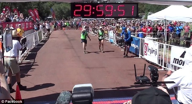 Grandmother Finishes Marathon