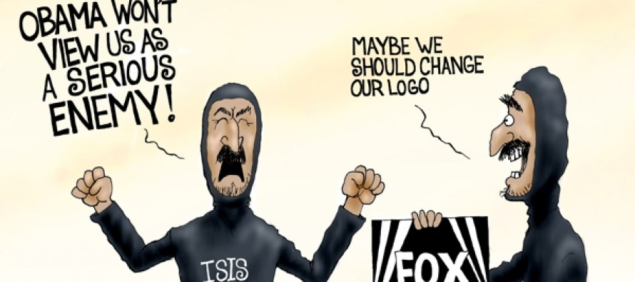 Fox News ISIS Obama (Cartoon)