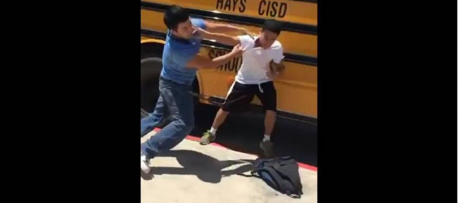 Check out this brutal KO fight in slow motion [VIDEO]