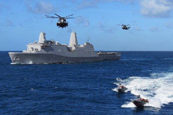 Marines at Sea