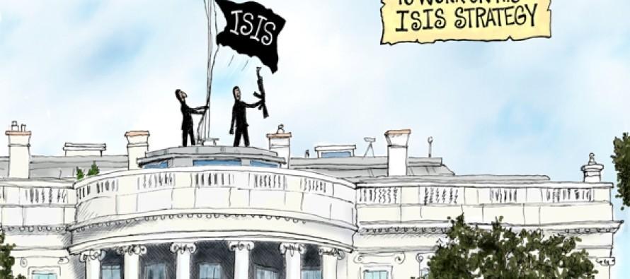 Leading From Way Behind (Cartoon)