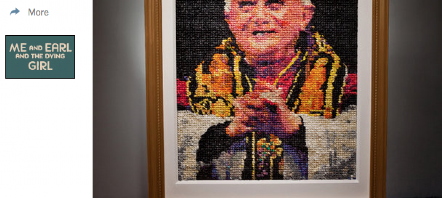 """NY Times Publishes Mosaic Of Pope """"Made Out of 17,000 Non-Lubricated Condoms"""""""