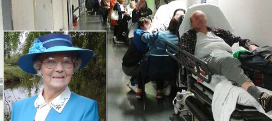 America's Future Under Obamacare? Photo of Long Line at British Hospital Creates Demands For Change