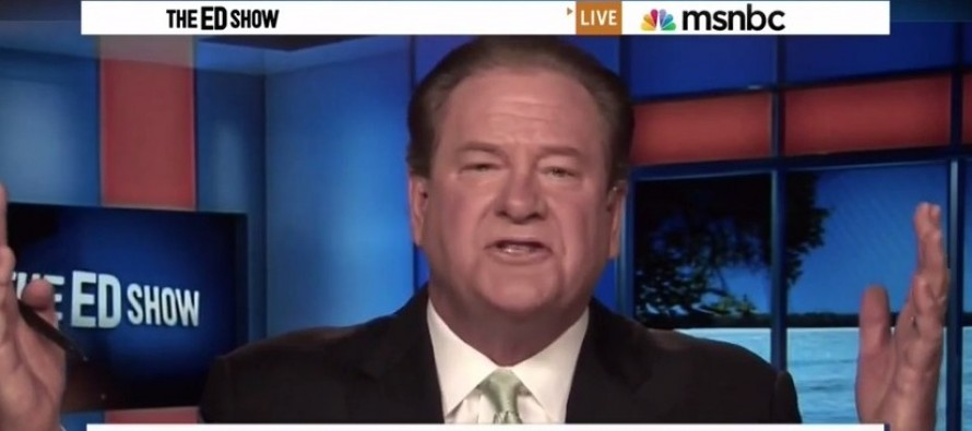 VIDEO: Ed Schultz Uses The Race Card Against Obama