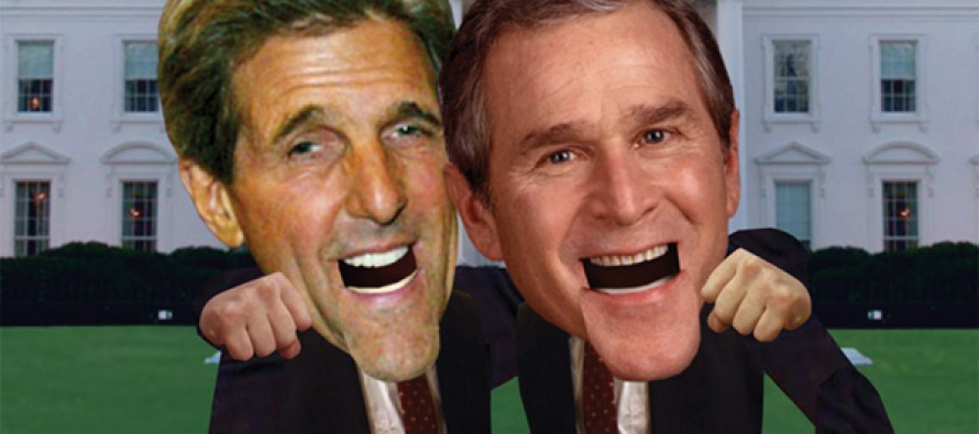 Joke: George Bush, Dick Cheney And John Kerry Meet The Pope in Texas