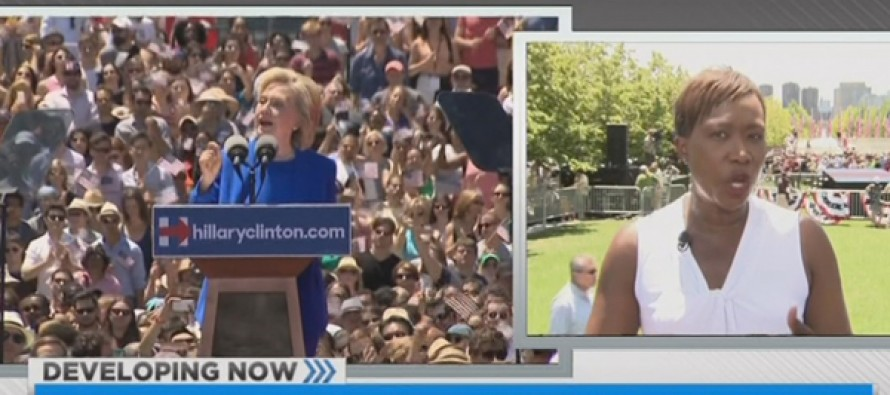 MSNBC Worries Hillary Crowd Too White, Small, and None Too Enthusiastic