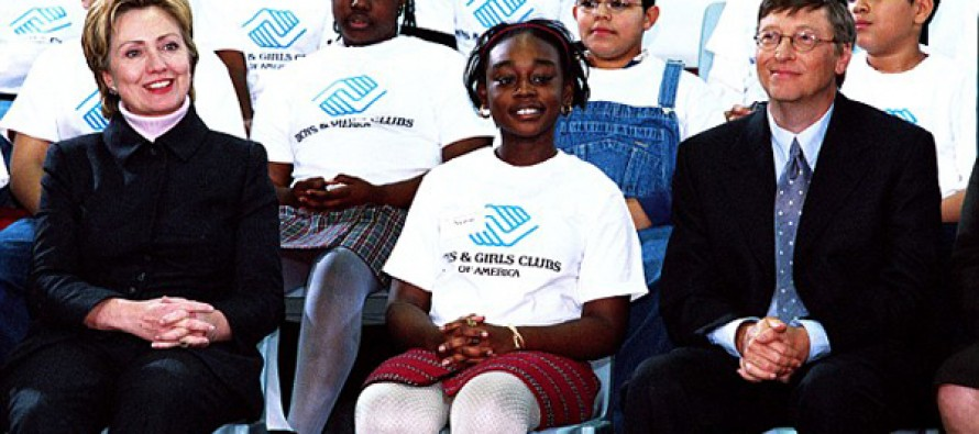Hillary Clinton charged the Boys and Girls Club a massive fee to speak, doesn't interact with the children