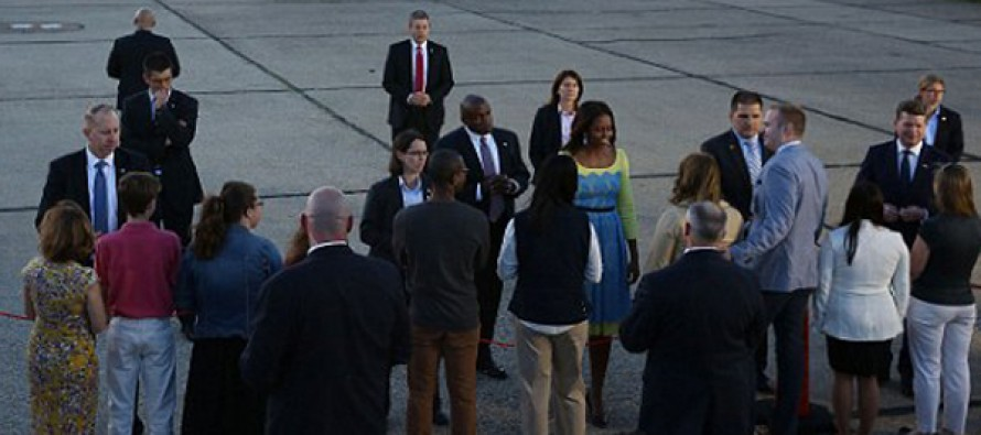 Michelle Obama women's cultural tour of Italy and the UK will cost US taxpayers at least $547,000