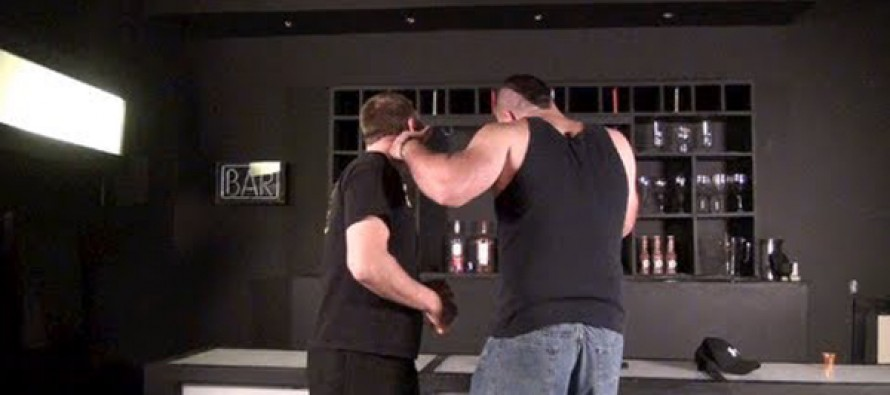 Video: Quick Knockout at Bar