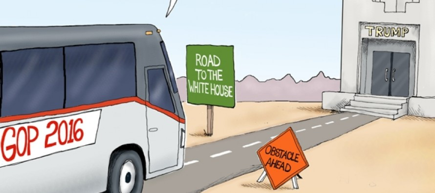 Facing Obstacles (Cartoon)